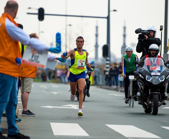 Khalid Choukoud opens new attack on his personal best at the NN Marathon Rotterdam in 2019