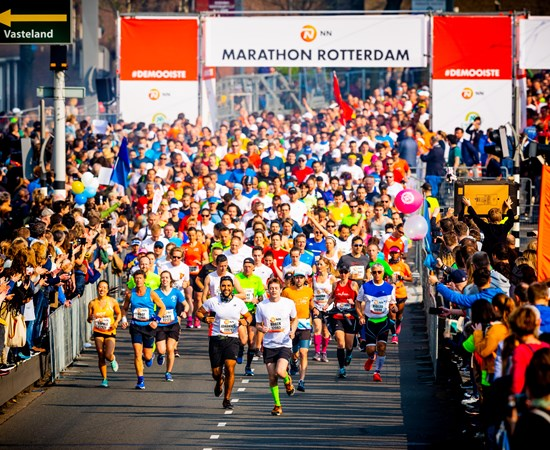 The NN Marathon Rotterdam will not take place in 2020